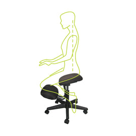 Ergo Kneeling Chair - Kneeling Stool - Knee Chair ergonomic