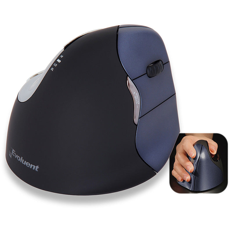Evoluent Vertical Mouse Right Regular Wireless
