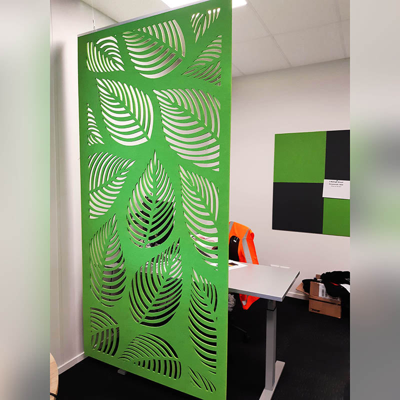 Acoustic Hanging Panel - Office Acoustics - Sound Panels 3D cut artistic