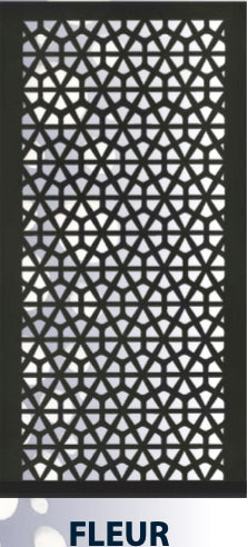 Acoustic Hanging Panel - Office Acoustics - Sound Panels pattern cut Fleur
