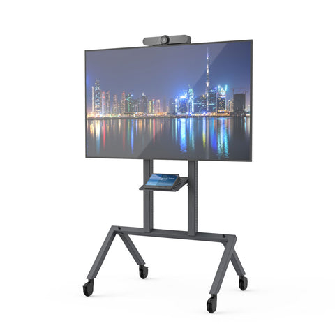 AV Cart Prime - AV TV Trolley - LCD Mobile Trolley grey