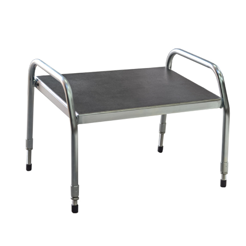 high footstool  for lab technicians - metal footstool ottoman -