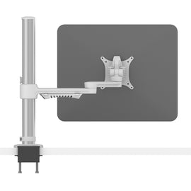 C.ME Monitor Arm - Monitor Bracket - Adjustable LCD Arm white