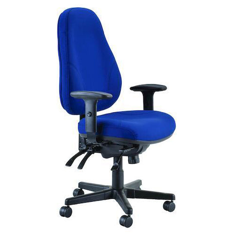 Buro Persona 24/7 -Jett Blue Heavy Duty Chair - 24 Hour Chair