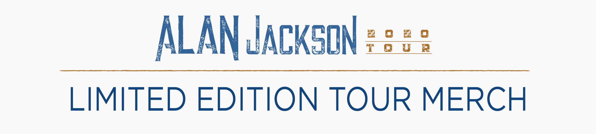 Alan Jackson – Exclusive Tour Merch