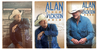 Alan Jackson – Signed Poster Bundle (2018, 2019, 2020)