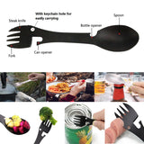 Stainless Steel Multi Tool Spork - Be the Life of the Picnic