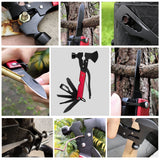 Survival Multi-Function Hammer Axe - It's like the Swiss Army Knife of Camping