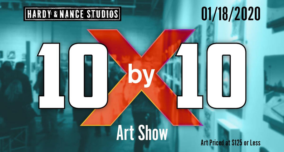 Open Studio and Art Show: 10x10