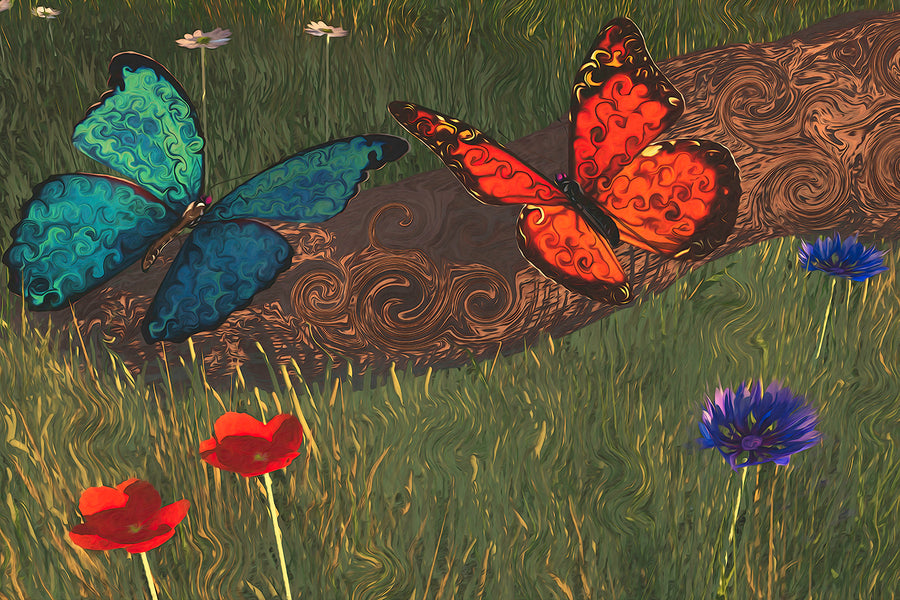 The Story Behind...Skyrim Butterflies