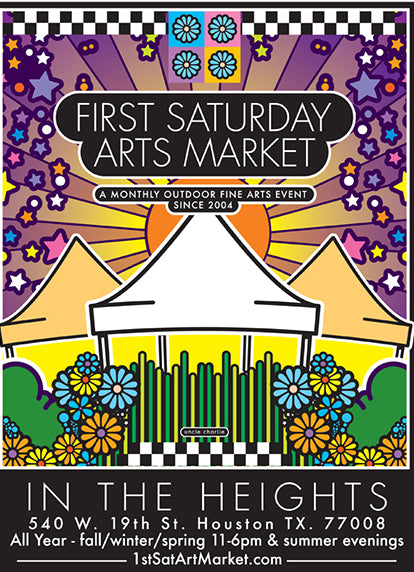 First Saturday Arts Market - March 7, 2020