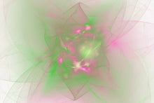 Load image into Gallery viewer, Tribute to AJ (Folds in Green & Pink)