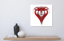 Load image into Gallery viewer, Heart (Red series #2)