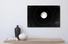 Load image into Gallery viewer, Moon Halo (Cloud series #17)