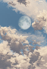 Load image into Gallery viewer, Moonrise (Cloud series #8)