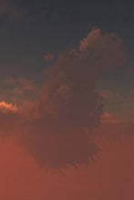 Load image into Gallery viewer, Pink Evening (Cloud series #6)