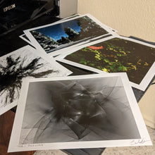 Load image into Gallery viewer, Severl 8x10 prints together on the printer.