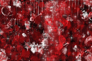 Red Nebula - metal print