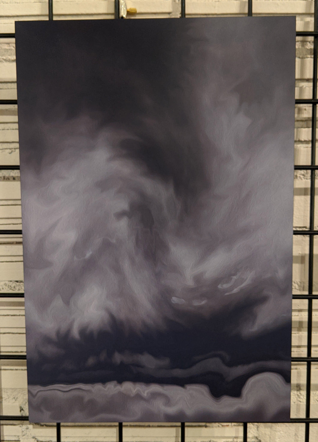 Storm Front - Limited edition metal print
