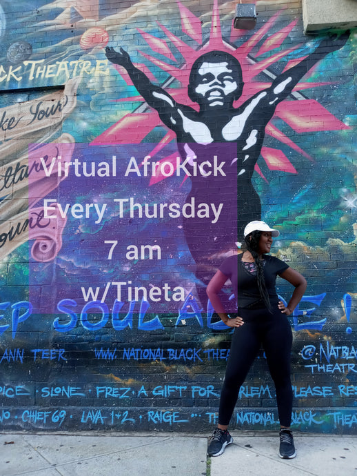 Virtual AfroKick Fitness w/Tineta