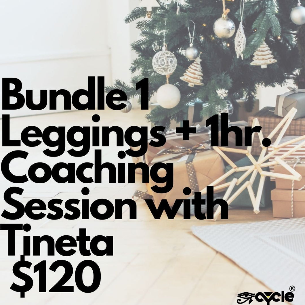 Bundle 1, 1 PT Session, 1 Pair of Leggings