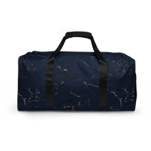 Load image into Gallery viewer, Blue Marble Duffle bag