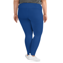 Load image into Gallery viewer, Royal Blue Plus Size Leggings
