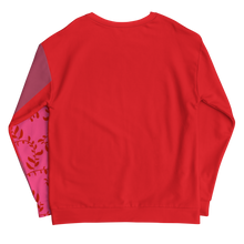Load image into Gallery viewer, Red Pink and Mauve Sweatshirt