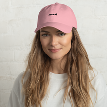 Load image into Gallery viewer, Eye Cycle Dad Hat Blush