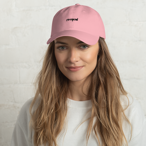 Eye Cycle Dad Hat Blush