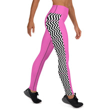 Load image into Gallery viewer, Pink Pathways Yoga Leggings