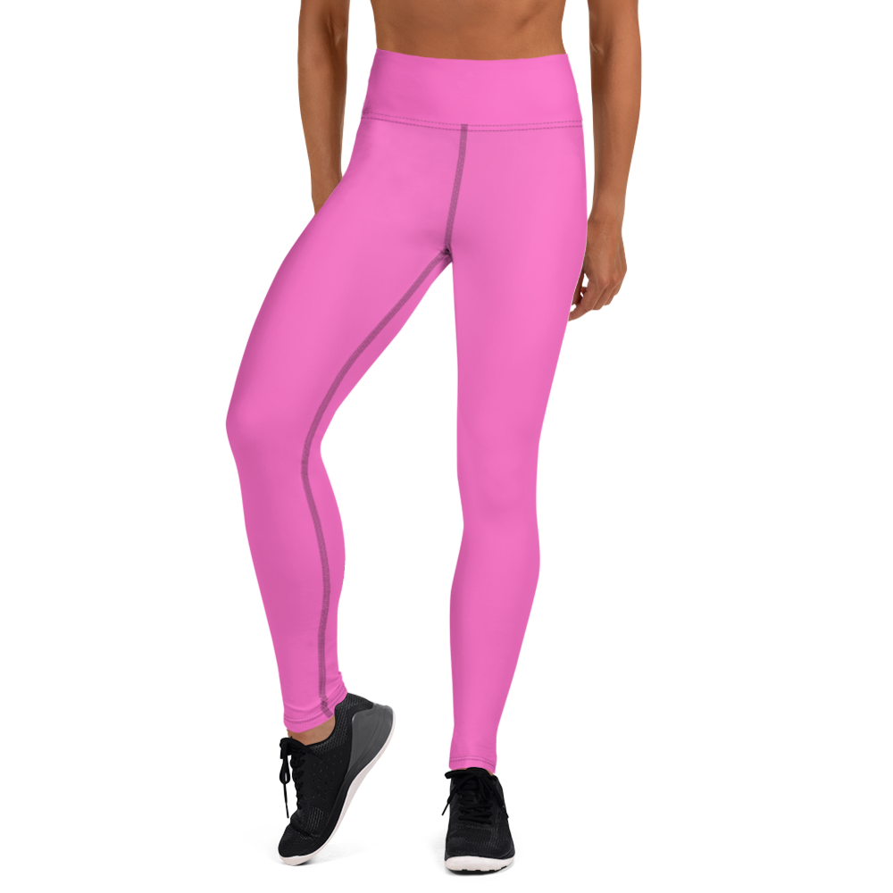 Pink Path Yoga Leggings