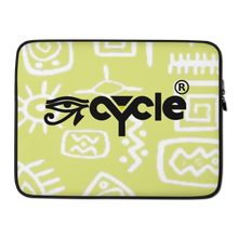 Load image into Gallery viewer, Eye Cycle Theme Laptop Sleeve