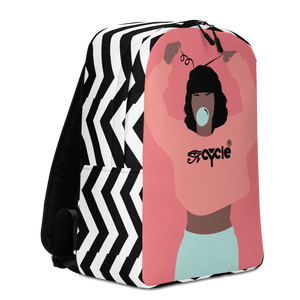 Crop Top Hair Minimalist Backpack