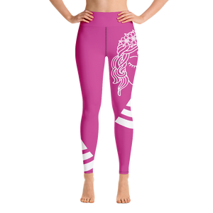 Yoga Leggings Budah Bless Hot Pink