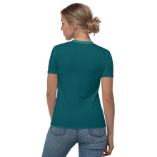 Load image into Gallery viewer, Women's V-neck Teal