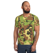 Load image into Gallery viewer, All-Over Print Men's Athletic T-shirt