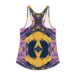 Women's Racerback Tank Purple Haze 2