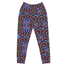 Load image into Gallery viewer, Blue Floral Joggers