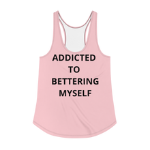 Load image into Gallery viewer, SOFT PINK ADDICTED Women's Racerback Tank