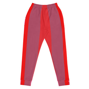 Red, Pink and Mauve Joggers