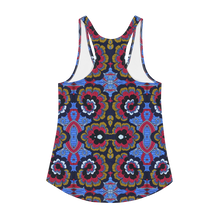 Load image into Gallery viewer, Blue Afro Racerback Tank