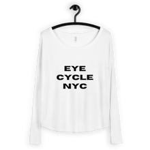 Load image into Gallery viewer, Eye Cycle NYC Ladies' Long Sleeve Tee