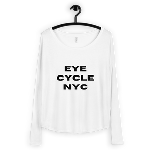 Eye Cycle NYC Ladies' Long Sleeve Tee