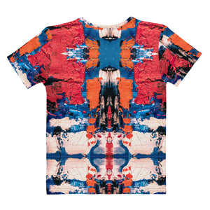 Blue, Red and Orange T