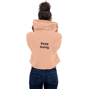 Keep Going Crop Hoodie