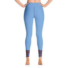 Load image into Gallery viewer, Soft Blue Afro Print Leggings