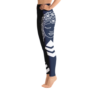 Yoga Leggings Budah Bless Blue