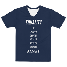 Load image into Gallery viewer, Equality Navy Men's T-shirt