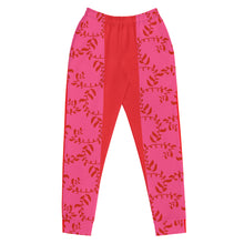 Load image into Gallery viewer, Red, Pink and Mauve Joggers